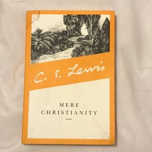 4 for 25 C.S Lewis Mere Christianity  bo…